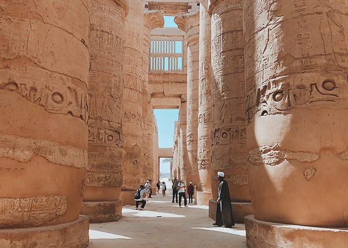 egypte c6bo voyage blog plongée karnak