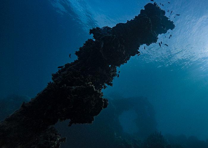 Epave à Chuuk, Micronésie