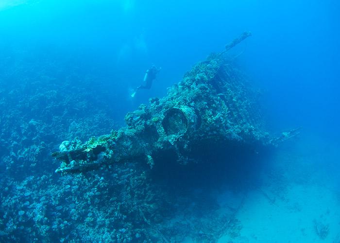 Les plus belles épaves de la Mer Rouge - Epave du SS Carnatic - C6Bo Voyages, blog plongée
