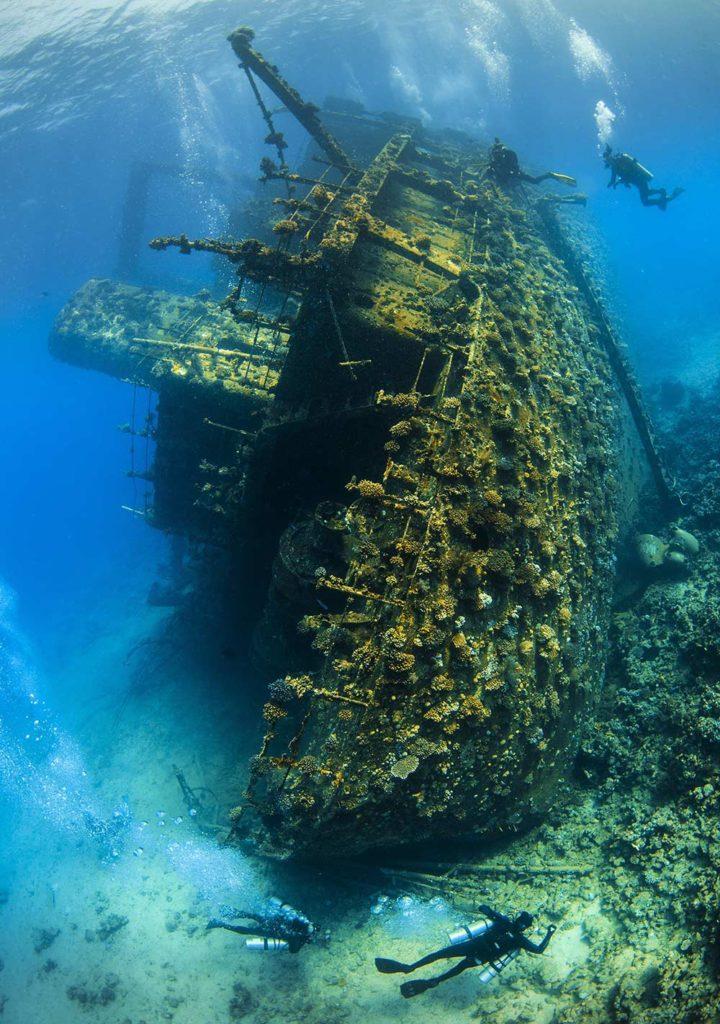 Les plus belles épaves de la Mer Rouge - Epave du Giannis D - C6Bo Voyages, blog plongée
