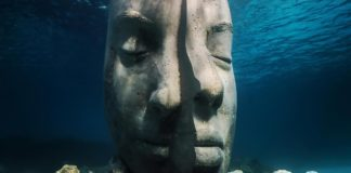 Statue du Musée sous-marin de Cannes | © Jason deCaires Taylor