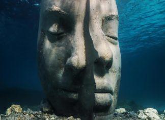Statue du Musée sous-marin de Cannes   © Jason deCaires Taylor