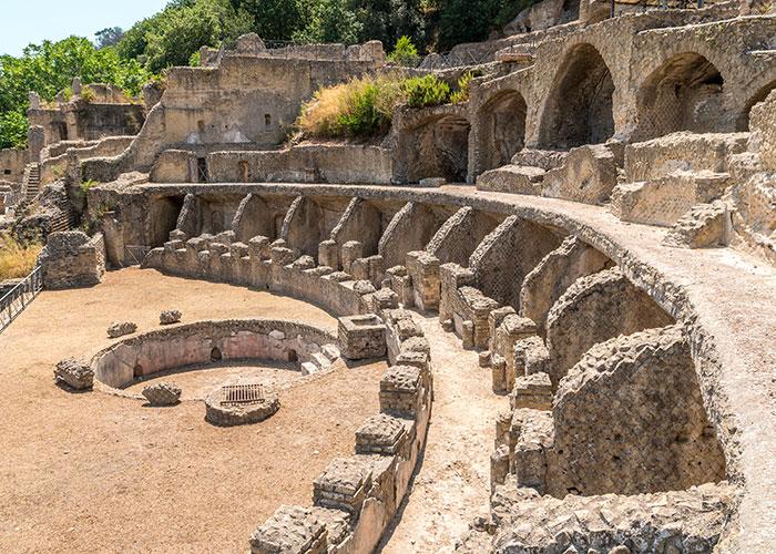 Ruines de la Villa dell'Ambulatio | © Simone